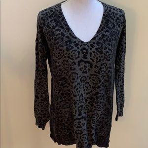 John + Jenn Leopard Print Sweater